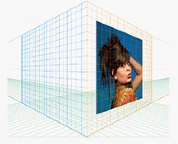 Como inserir imagens no Grid de Perspectiva do Illustrator