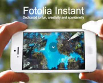 Fotolia Instant lan�a vers�o para iOS e Android