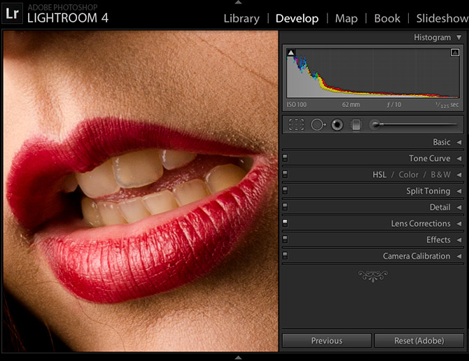 Como Clarear Dentes No Lightroom