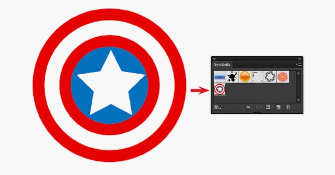Faca O Escudo Do Capitao America No Illustrator Photopro Cursos