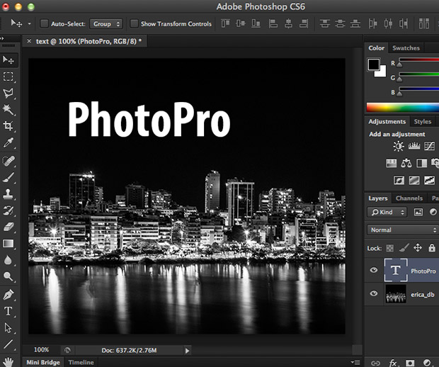 Atalho para aumentar texto no photoshop photopro cursos online 142text01 ccuart Images