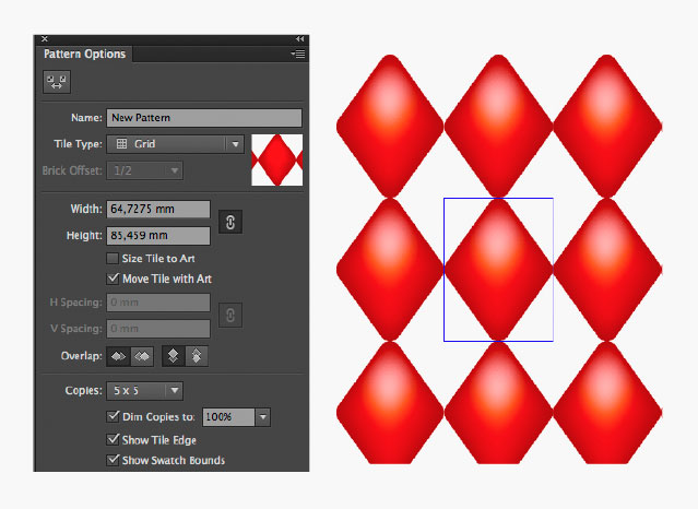 how to make mesh pattern in illustrator