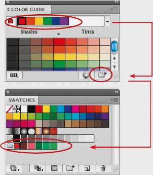 how to change the color of guides in illustrator