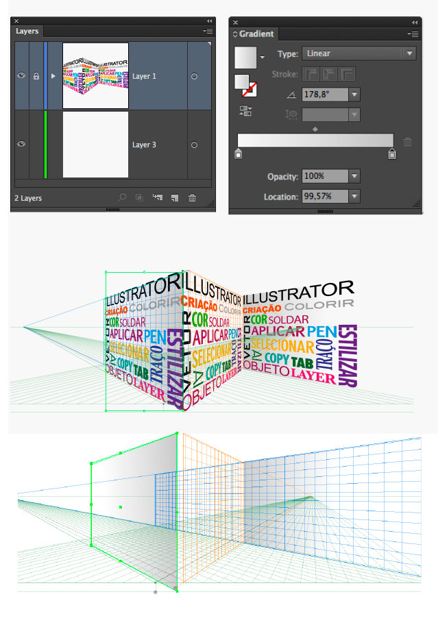 how to use perspective grid in illustrator