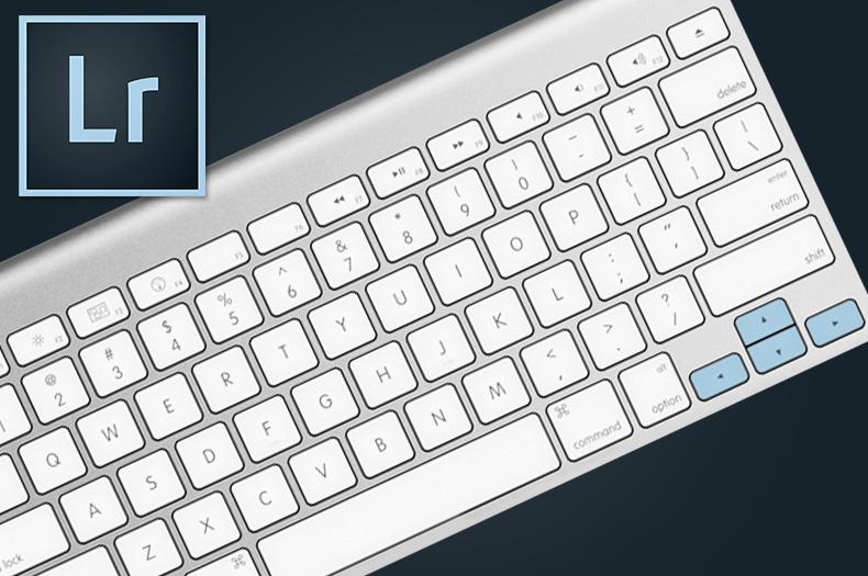 Lightroom: alterando valores com o teclado