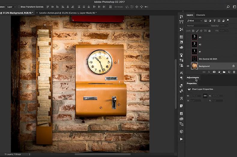 dicas de produtividade no photoshop