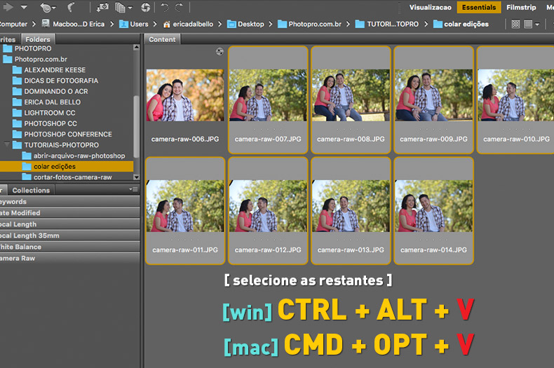 copiar-colar-camera-raw-06, atalho para copiar e colar configurações do camera raw, camera raw, tutoriais photopro