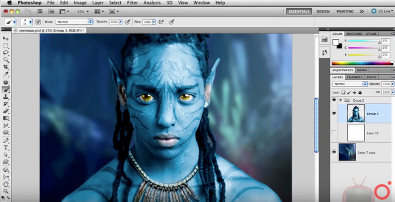 tutorial de photoshop, dica de photoshop, aula de photoshop, aprender photoshop, curso photoshop, como criar avatar, avatar, avatar no photoshop, como criar efeito avatar no photoshop, como criar efeito avatar, avatar photoshop, getulino pacheco, getulino photoshop, aula getulino pacheco, curso getulino pacheco, video getulino pacheco, Como transformar uma pessoa em Avatar no Photoshop, como transformar uma pessoa em avatar, como virar avatar, como deixar uma pessoa azul no photoshop, azul no photoshop, pessoa azul photoshop, tutorial do getulino pacheco, avatar photopro, avatar photoshop conference, instrutor photoshop conference, instrutor de photoshop, video de photoshop, como trocar a cor dos olhos no photoshop, transformação no photoshop, efeito em pessoas no photoshop